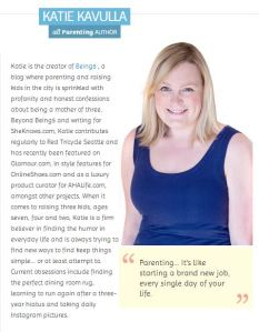 Katie Kavulla, Contributor, allParenting